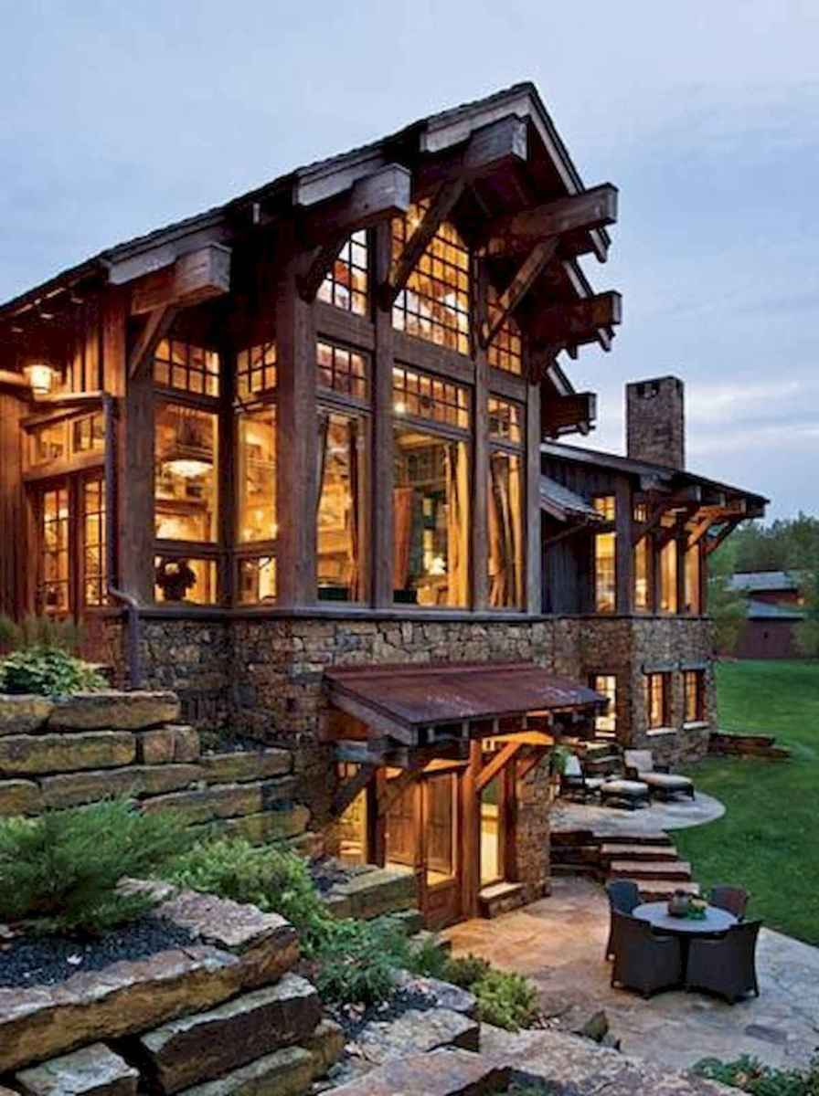 50 Best Log Cabin Homes Modern Design Ideas (26)