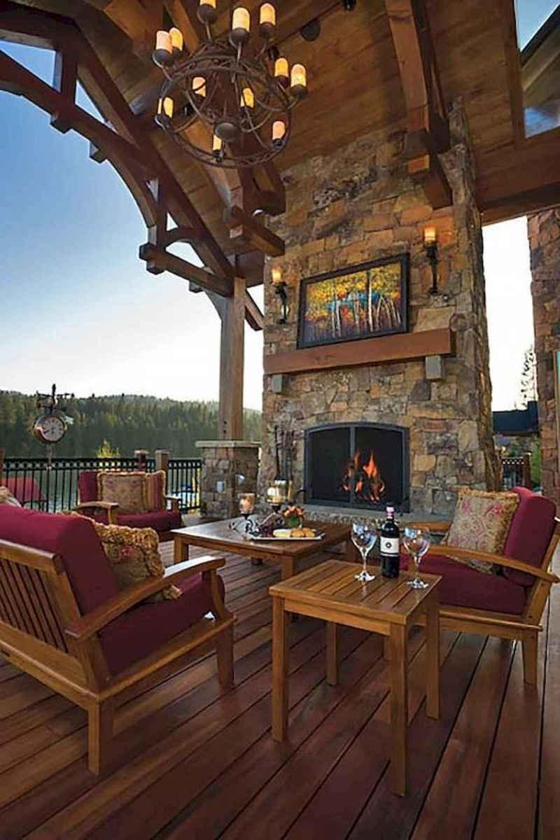 50 Best Log Cabin Homes Modern Design Ideas (39)