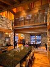 50 Best Log Cabin Homes Modern Design Ideas (48)
