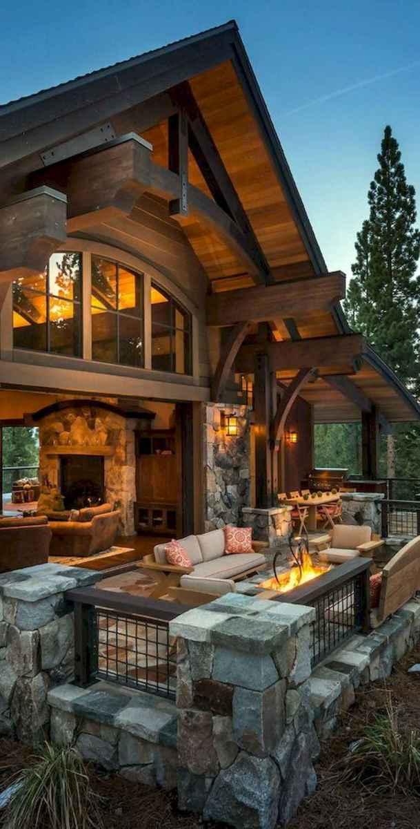 50 Best Log Cabin Homes Modern Design Ideas (8)