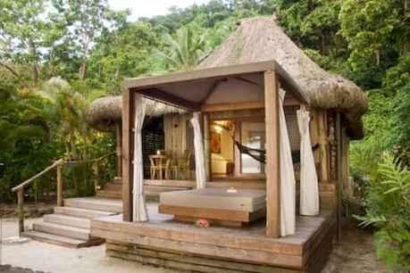 70 Fantastic Small Log Cabin Homes Design Ideas (13)