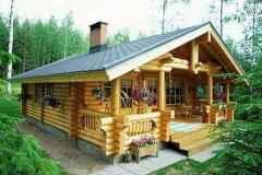 70 Fantastic Small Log Cabin Homes Design Ideas (61)
