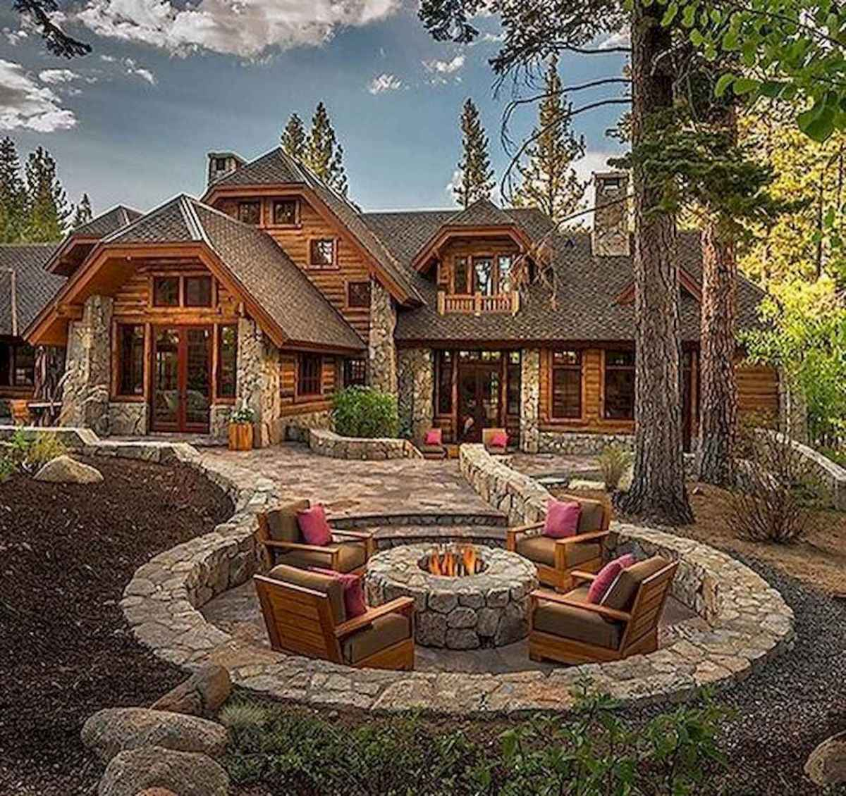 75 Best Log Cabin Homes Plans Design Ideas (10)