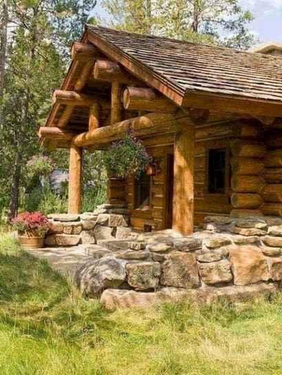 75 Best Log Cabin Homes Plans Design Ideas (19)