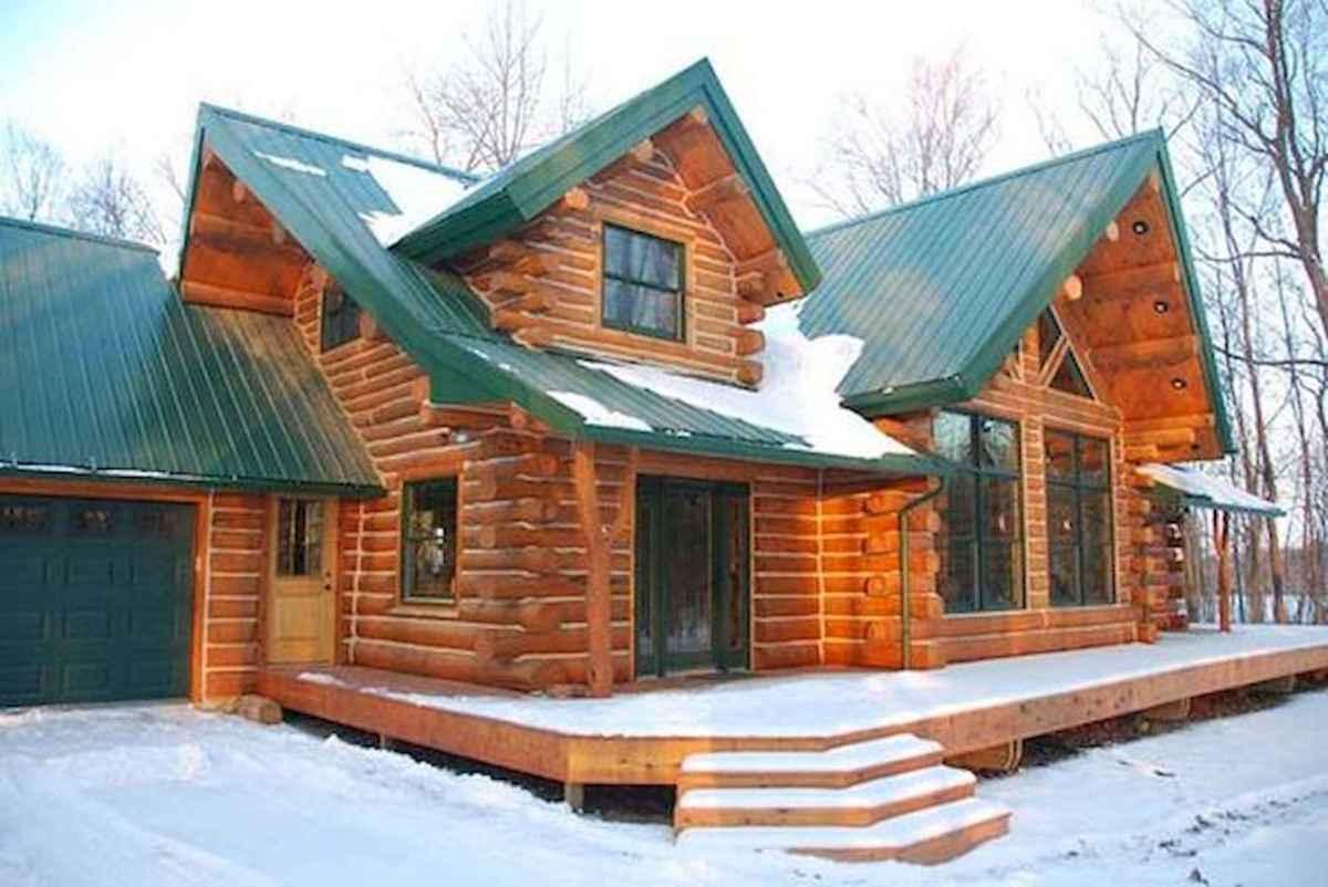 75 Best Log Cabin Homes Plans Design Ideas (21)