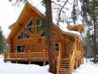75 Best Log Cabin Homes Plans Design Ideas (25)