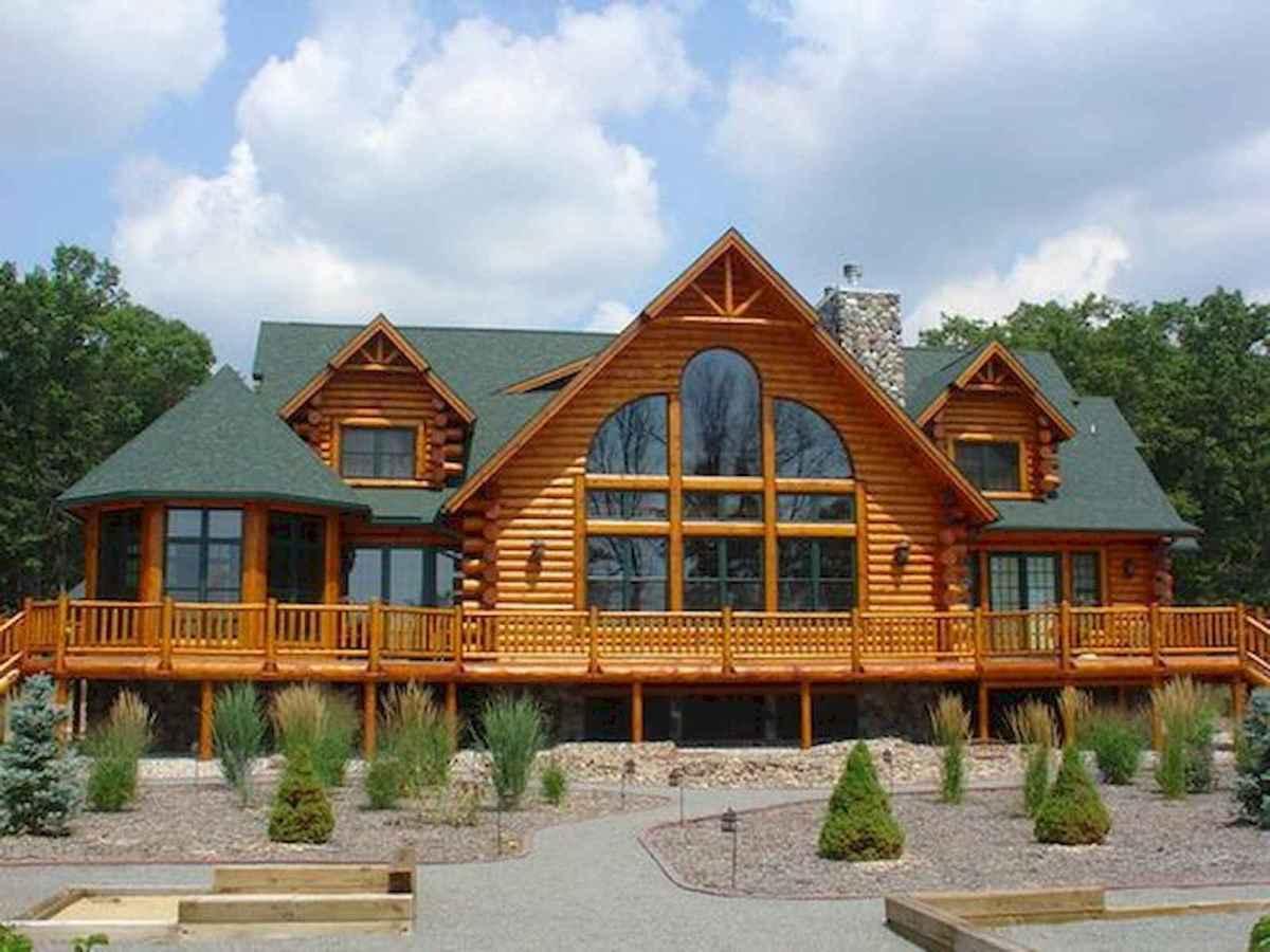 75 Best Log Cabin Homes Plans Design Ideas (31)