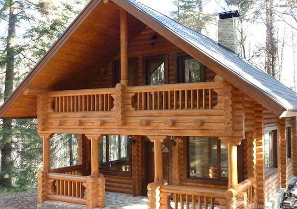 75 Best Log Cabin Homes Plans Design Ideas (37)