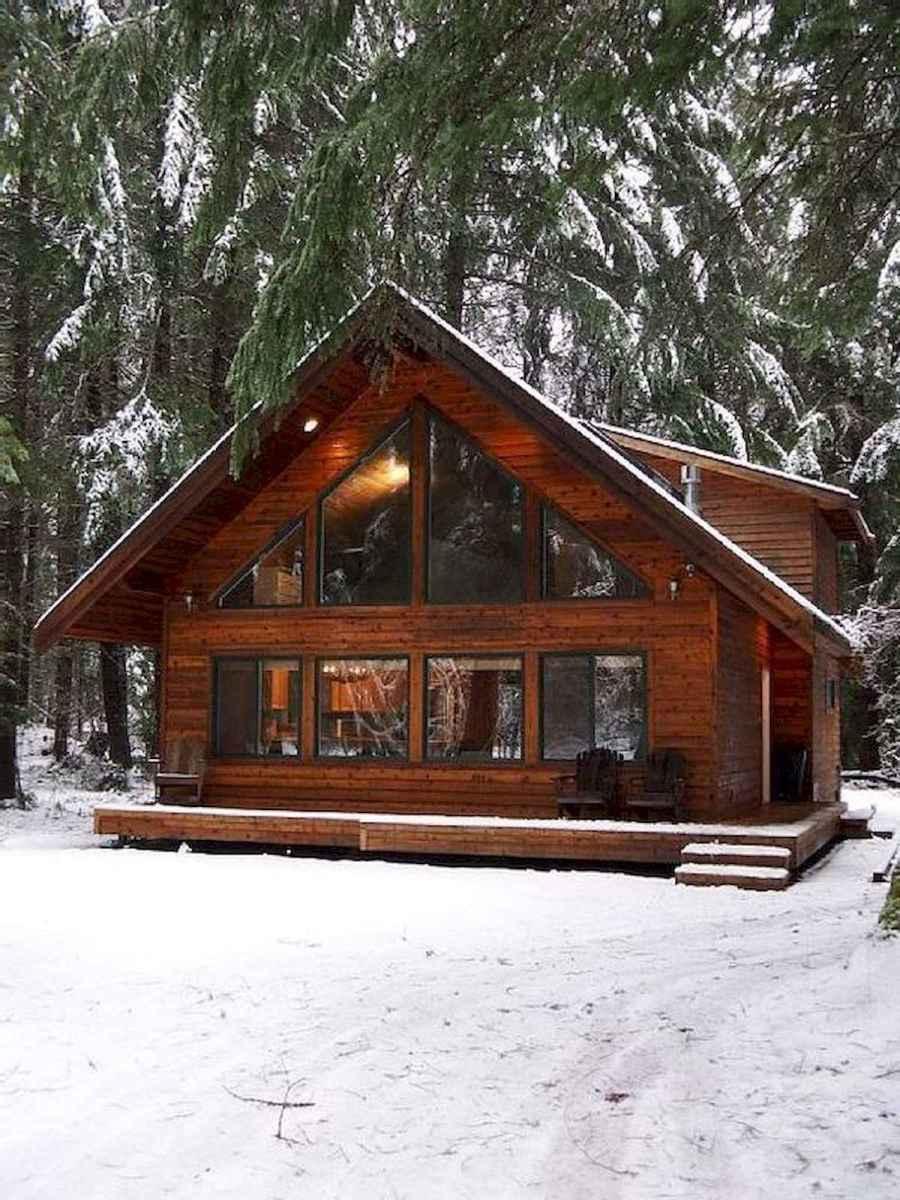 75 Best Log Cabin Homes Plans Design Ideas (54)