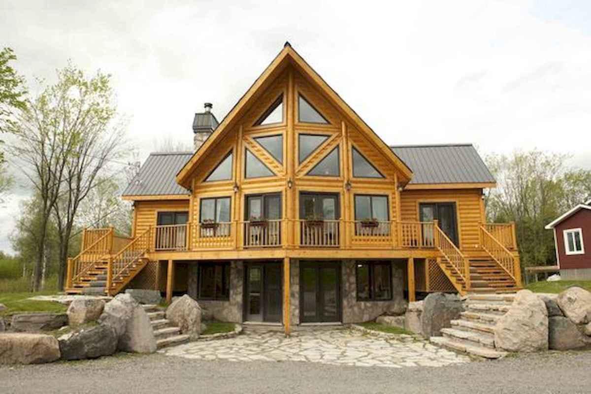 75 Best Log Cabin Homes Plans Design Ideas (74)