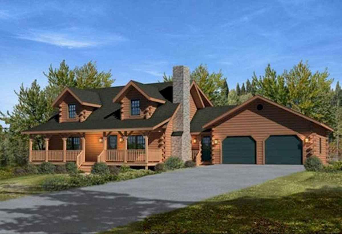 75 Best Log Cabin Homes Plans Design Ideas (8)
