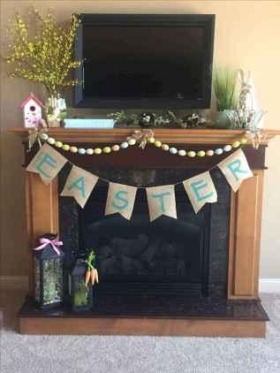 35 Best Easter Fireplace Mantle Decor Ideas (14)