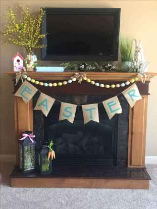 35 Best Easter Fireplace Mantle Decor Ideas (14)