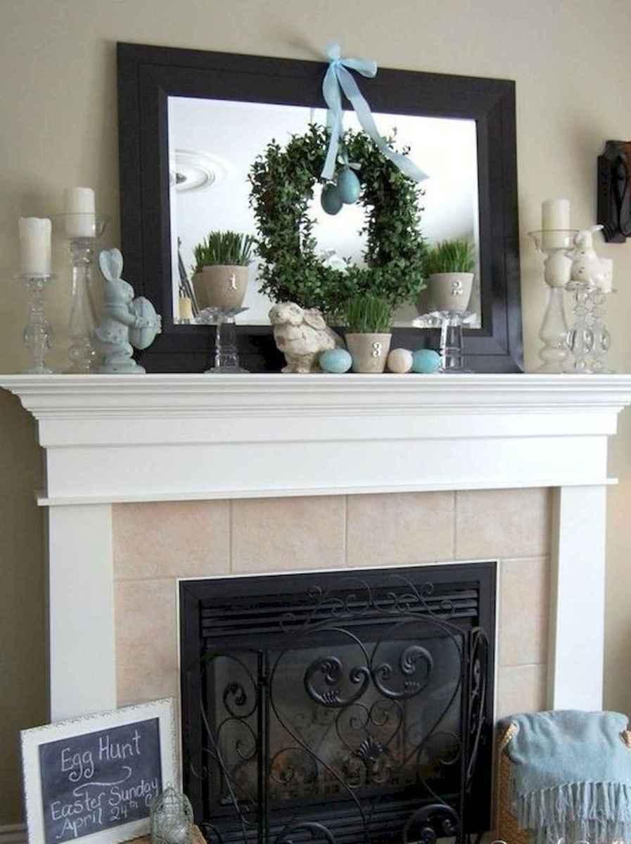 35 Best Easter Fireplace Mantle Decor Ideas (3)