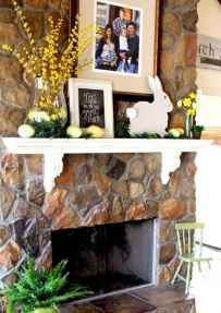 35 Best Easter Fireplace Mantle Decor Ideas (6)