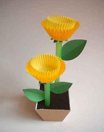 40 Easy DIY Spring Crafts Ideas for Kids (13)