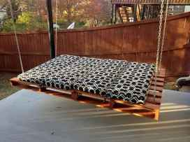 50 Amazing DIY Projects Pallet Swings Design Ideas (22)