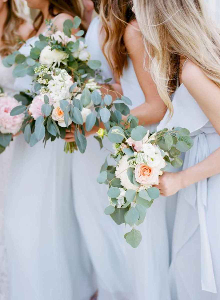 50 Beautiful Spring Bridesmaid Bouquets for Wedding Ideas (16)
