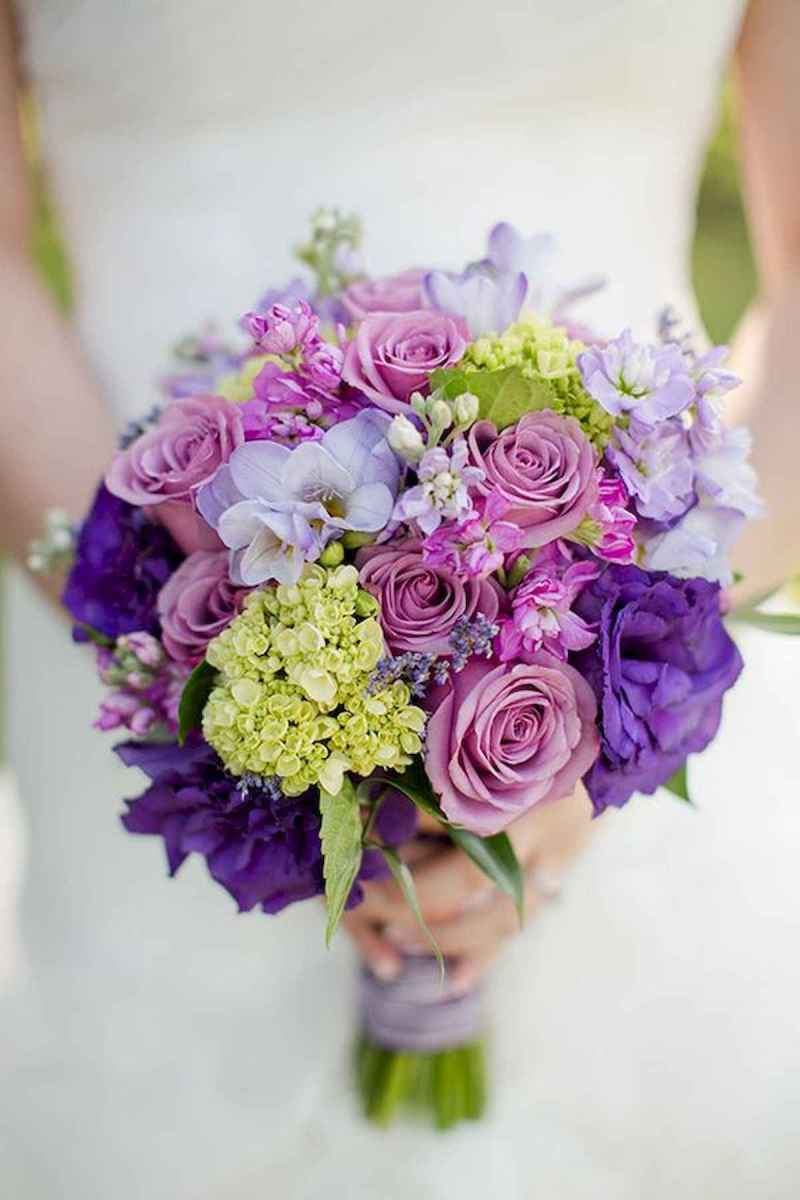 50 Beautiful Spring Bridesmaid Bouquets for Wedding Ideas (29)
