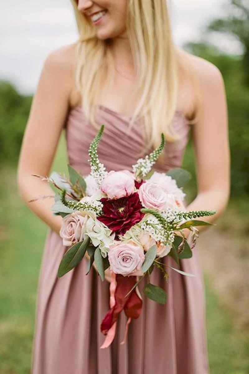 50 Beautiful Spring Bridesmaid Bouquets for Wedding Ideas (42)