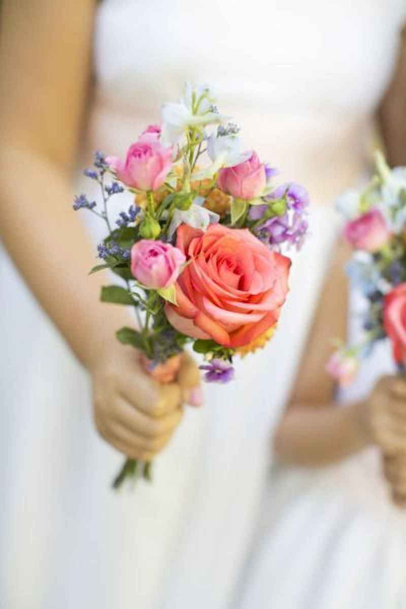 50 Beautiful Spring Bridesmaid Bouquets for Wedding Ideas (50)