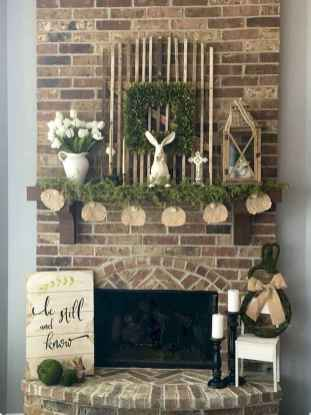 50 Beautiful Spring Mantle Decorating Ideas (25)