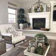 50 Beautiful Spring Mantle Decorating Ideas (42)
