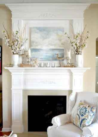 50 Beautiful Spring Mantle Decorating Ideas (52)