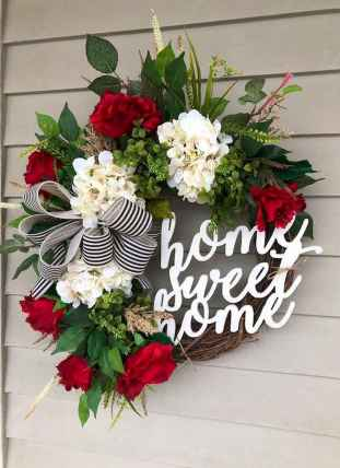50 Beautiful Spring Wreaths Decor Ideas and Design (15)