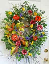 50 Beautiful Spring Wreaths Decor Ideas and Design (22)