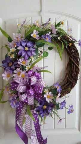50 Beautiful Spring Wreaths Decor Ideas and Design (27)