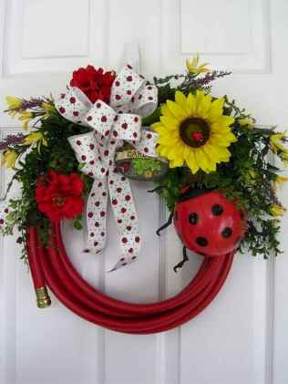50 Beautiful Spring Wreaths Decor Ideas and Design (40)