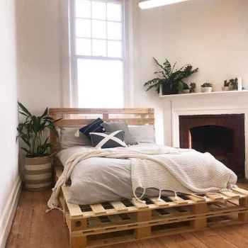 50 Creative Recycled DIY Projects Pallet Beds Design Ideas (50)