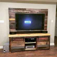 50 Favorite DIY Projects Pallet TV Stand Plans Design Ideas (15)