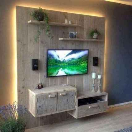50 Favorite DIY Projects Pallet TV Stand Plans Design Ideas (32)