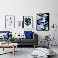 50+ Genius Small Living Room Decor Ideas And Remodel for Your First Apartment (10)