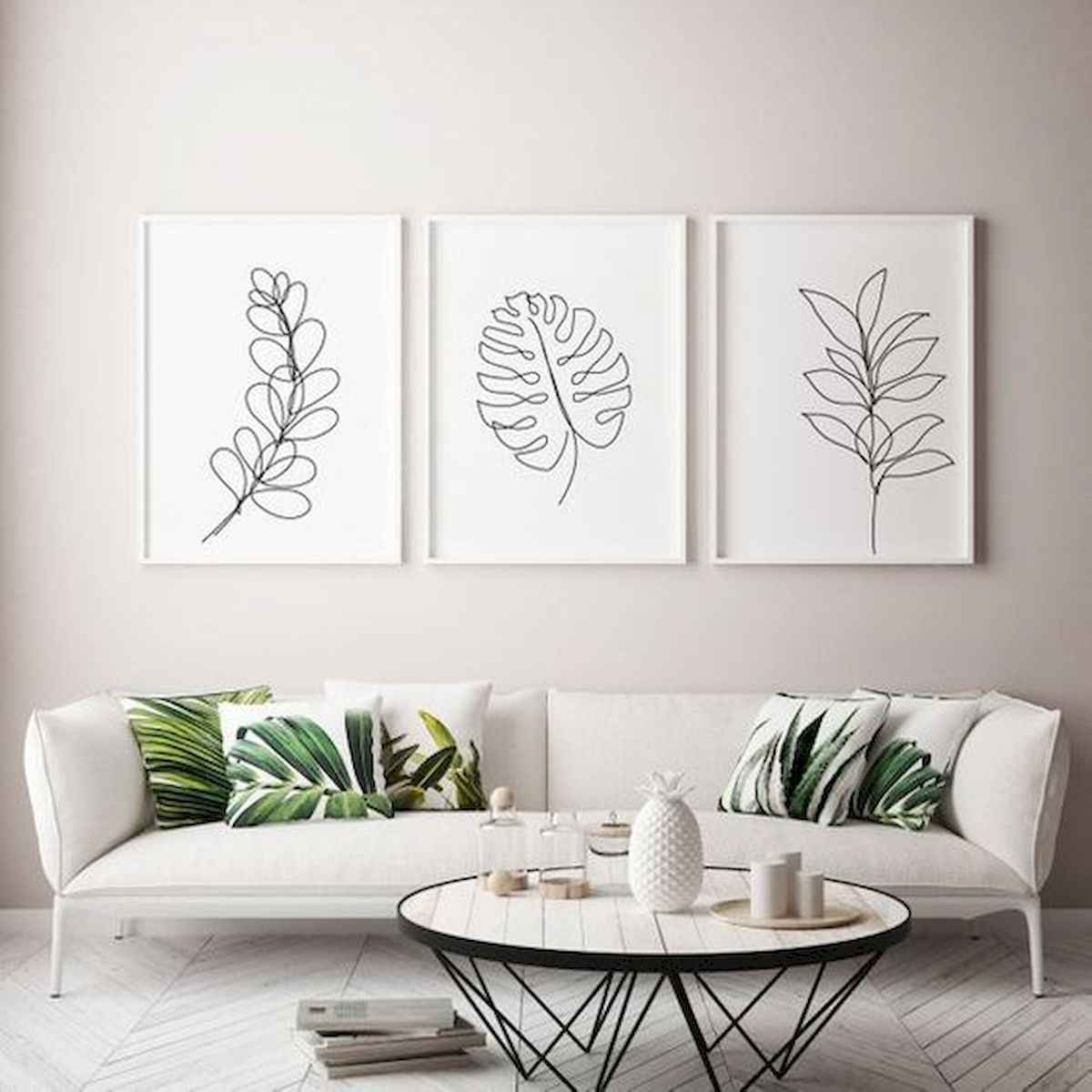 50+ Genius Small Living Room Decor Ideas And Remodel for Your First Apartment (13)