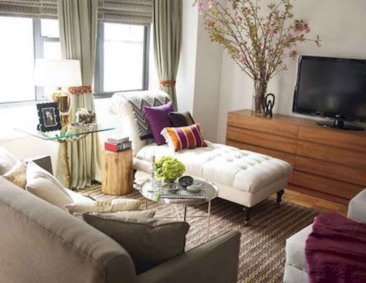 50+ Genius Small Living Room Decor Ideas And Remodel for Your First Apartment (41)