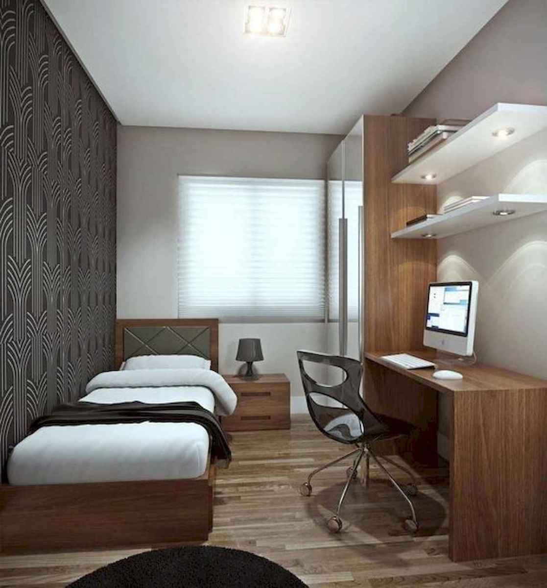 50 Stunning Small Apartment Bedroom Design Ideas and Decor (48)