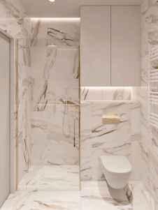 50 Stunning Small Bathroom Makeover Ideas (19)