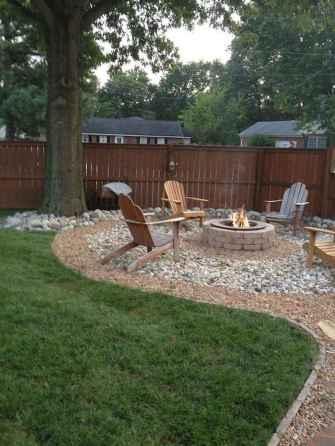 60 Creative Backyard Fire Pit Ideas (49)