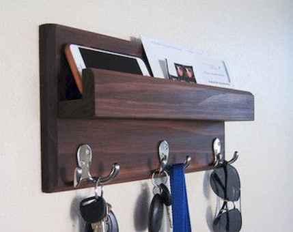 60 Fantastic DIY Projects Pallet Key Rack Design Ideas (1)