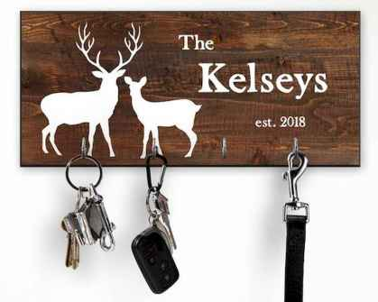 60 Fantastic DIY Projects Pallet Key Rack Design Ideas (3)