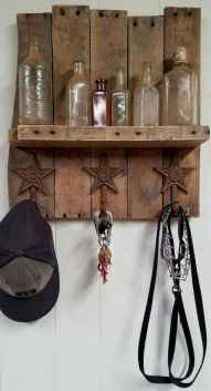 60 Fantastic DIY Projects Pallet Key Rack Design Ideas (7)