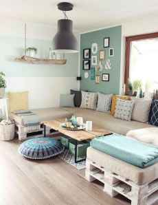60 Stunning DIY Projects Pallet Sofa Design Ideas (33)