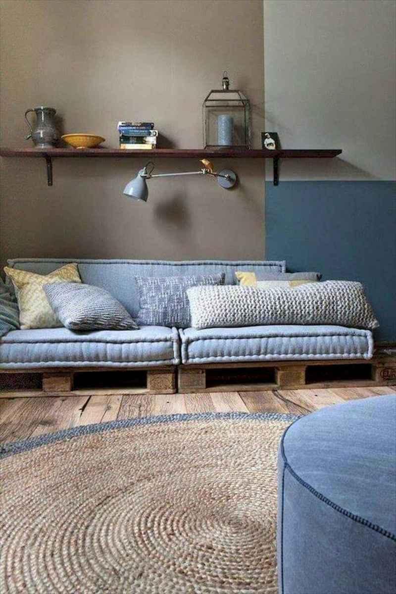 60 Stunning DIY Projects Pallet Sofa Design Ideas (34)