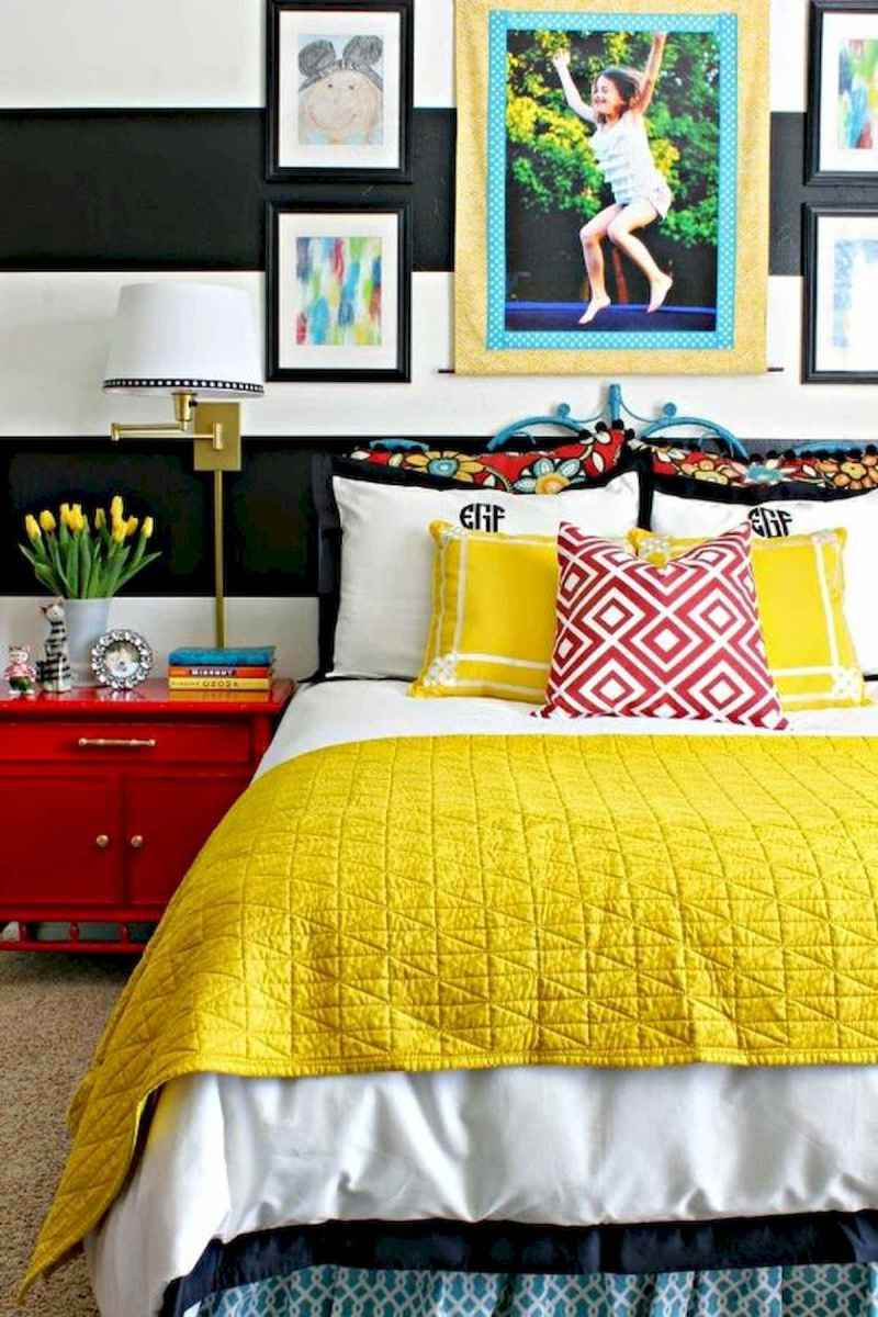 70+ Amazing Colorful Bedroom Decor Ideas And Remodel for Summer Project (1)