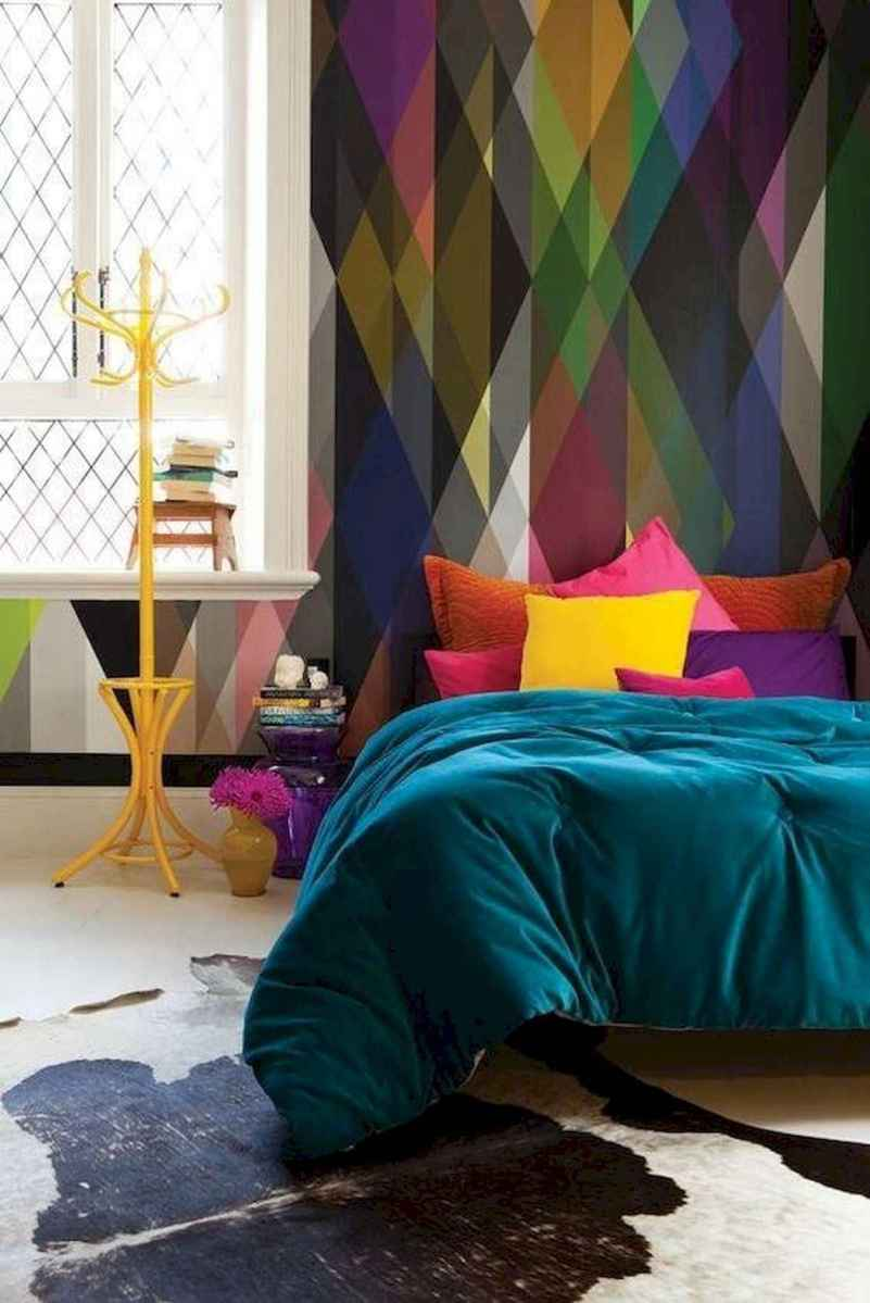 70+ Amazing Colorful Bedroom Decor Ideas And Remodel for Summer Project (24)