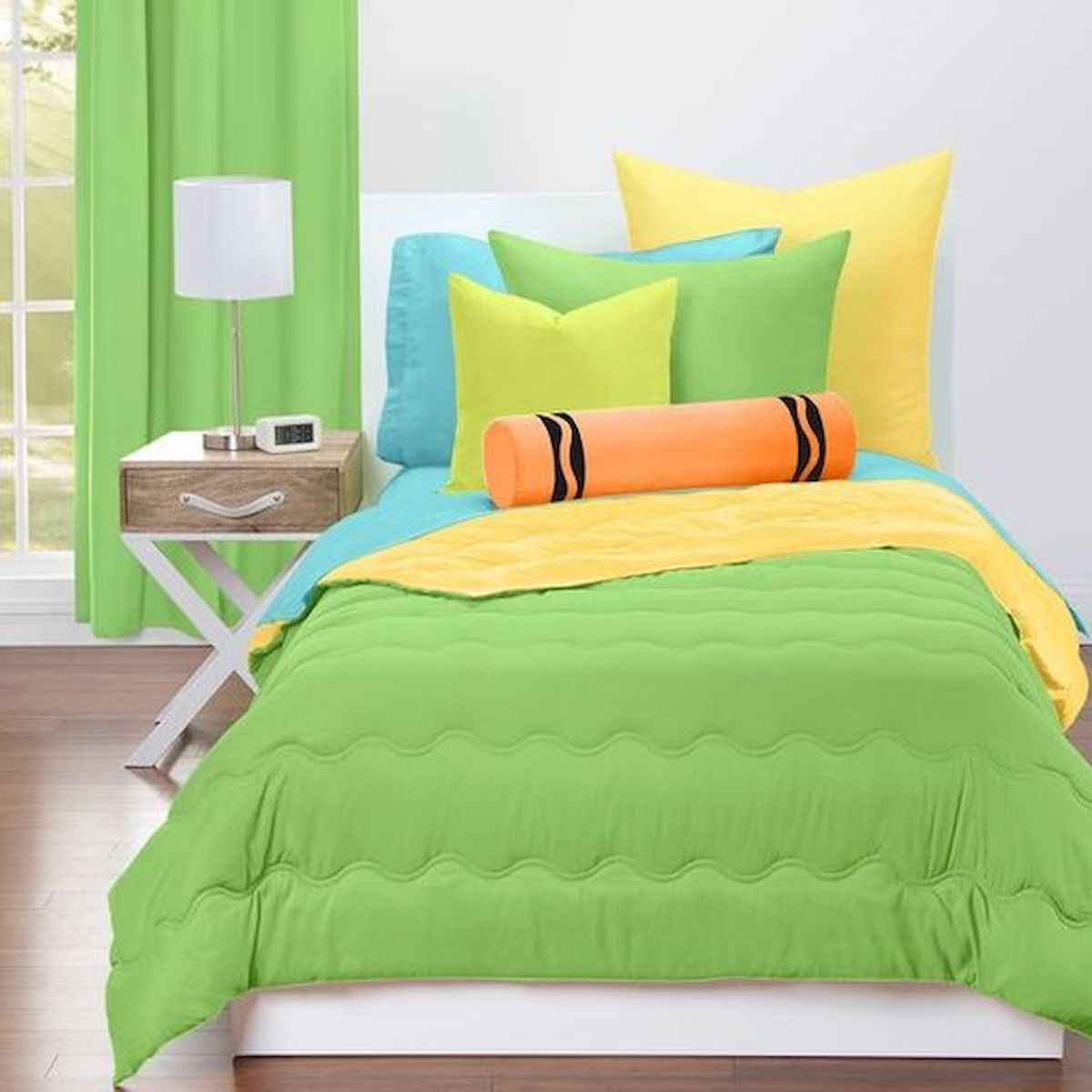 70+ Amazing Colorful Bedroom Decor Ideas And Remodel for Summer Project (25)