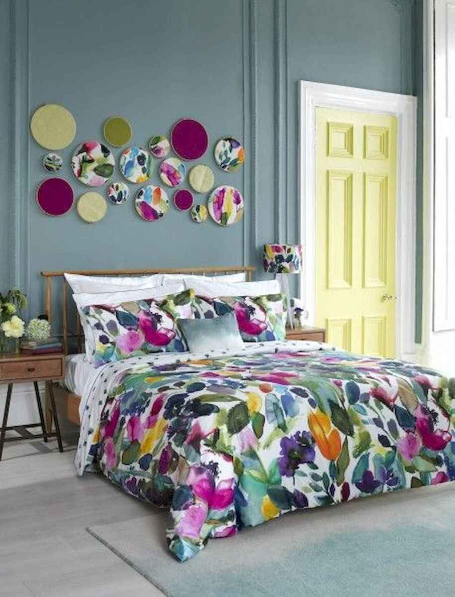 70+ Amazing Colorful Bedroom Decor Ideas And Remodel for Summer Project (55)